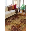 Hand Knotted Lille  New Zealand Wool Rug ( 8' x 11' )