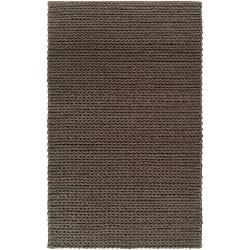 Hand-woven Arezzo Braided Texture New Zealand Wool Rug ( 8' x 11' )