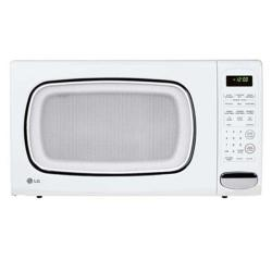 LG LCS1410SW 1.4 Cu ft Counter Top Microwave Oven in Smooth White (Refurbished)
