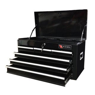 Excel 26-inch Tool Chest with Six Ball Bearing Slide Drawers