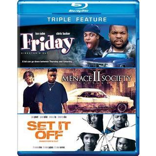 Friday/Menace II Society/Set It Off (Blu-ray Disc) 8566288