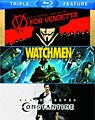 V For Vendetta/Watchmen/Constantine (Blu-ray Disc)