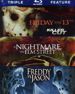 Friday the 13th/Nighmare on Elm Street/Freddy Vs. Jason (Blu-ray Disc)