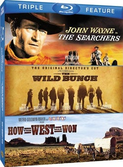 The Searchers/The Wild Bunch/How The West Was Won (Blu-ray Disc)