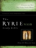 Ryrie Study Bible: New American Standard Bible, Red Letter Edition (Hardcover)