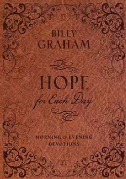 Hope for Each Day: Morning & Evening Devotions (Hardcover)
