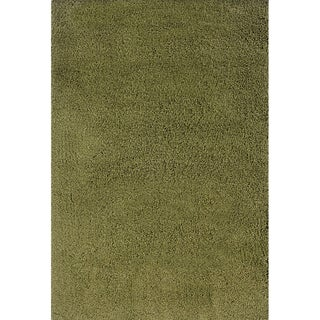 Manhattan Green Area Rug (6'7 x 9'6)