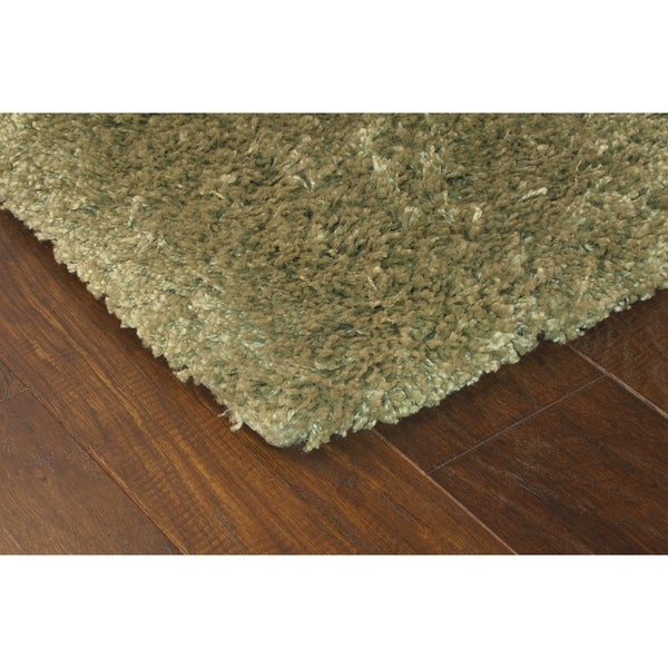 Manhattan Green Area Rug (5'3 x 7'9)