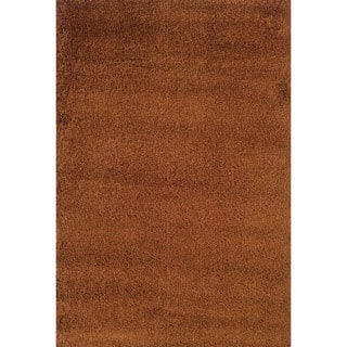 Manhattan Rust Area Rug (6'7 x 9'6)