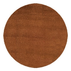 Manhattan Rust Area Rug (6' Round)