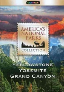 America's National Parks Collection: Yellowstone, Yosemite,  Grand Canyon (DVD)
