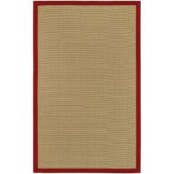 Hand-woven Olympic Natural Fiber Jute Rug (8' x 10')