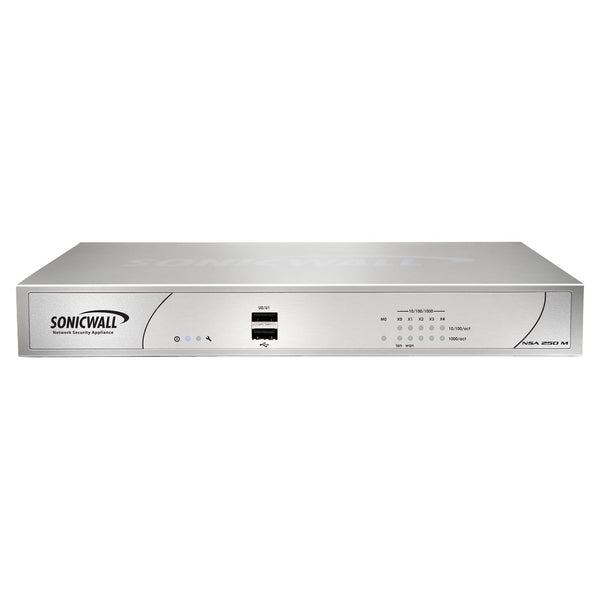 SonicWALL NSA 250M Firewall Appliance