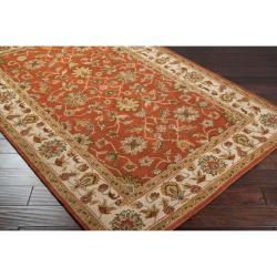 Hand-tufted Bernese Wool Rug (6' x 9')