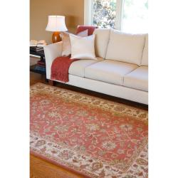 Hand-tufted Bernese Wool Rug (6' x 9')