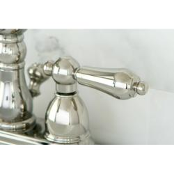 Heritage Polished Nickel Bathroom Faucet