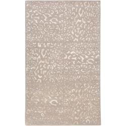 Candice Olson Hand-tufted Leopard Animal Print Albula Wool Rug (8' x 11')
