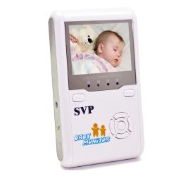 SVP Pink 2.4GHz Wireless Digital Baby Monitor with LCD