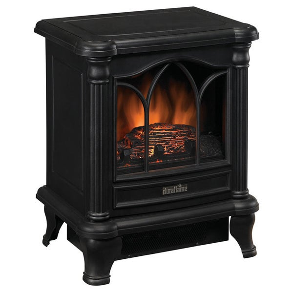 Duraflame DFS-450-2 Black Carleton Electric Stove with Heater