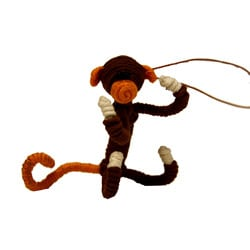 Yarn Monkey Ornament (Colombia)