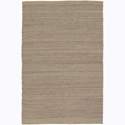 Casual Handwoven Mandara Flat-weave Rug (7'9 x 10'6)