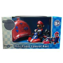 Super Mario Brothers 1:24 Scale Remote Control Mario Kart Toy