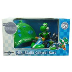Super Mario Brothers 1:24 Scale Remote Control Yoshi Kart Toy