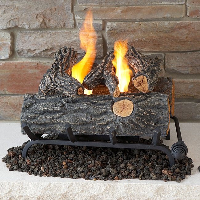 Real Flame 18-inch Convert-To-Gel Log Set at Sears.com