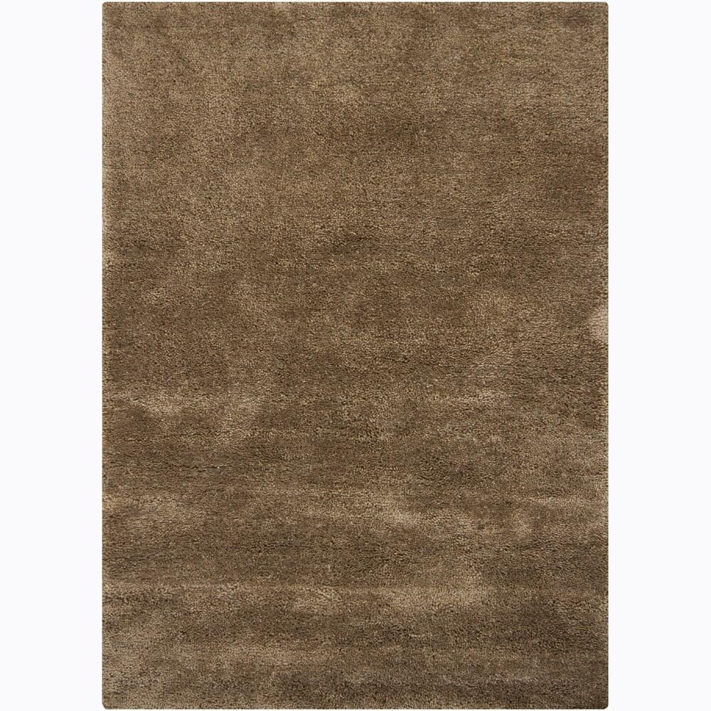 Hand-woven Mandara Shag Rug (3'11x5'7)