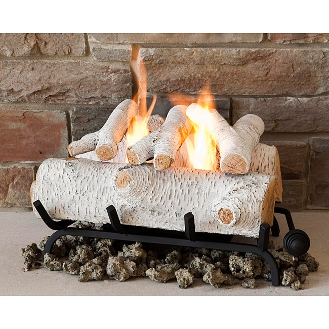 Real Flame Birch 18-inch Convert-To-Gel Log Set at Sears.com