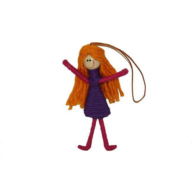 Yarn Girl Ornament (Colombia)