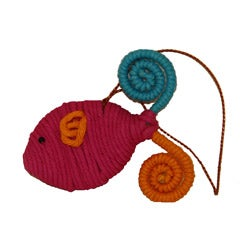 Yarn Fish Ornament (Colombia)