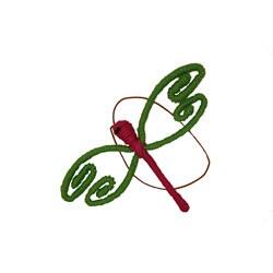 Yarn Dragonfly Ornament (Colombia)
