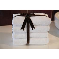 Authentic Hotel & Spa Plush Soft-twist Turkish Cotton Hand Towels (Set of 4)