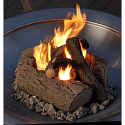 Real Flame Gel-burning Outdoor Log Set