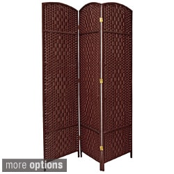 Fiber Weave 4-foot Room Divider (China)