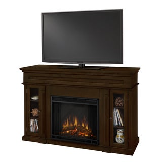 Real Flame Lannon Espresso Electric Fireplace