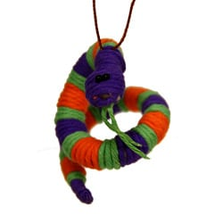 Yarn Snake Ornament (Colombia)