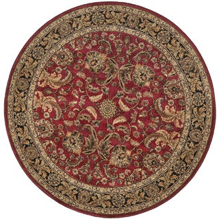 Dorchester Red/ Charcoal Rug (7'7 Round)