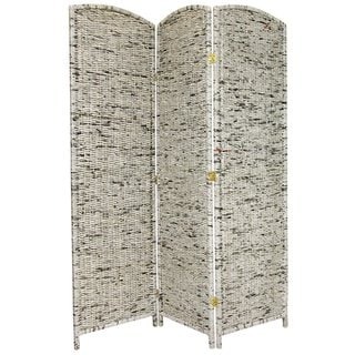 Recycled Newspaper 6-foot Tall Room Divider (China)