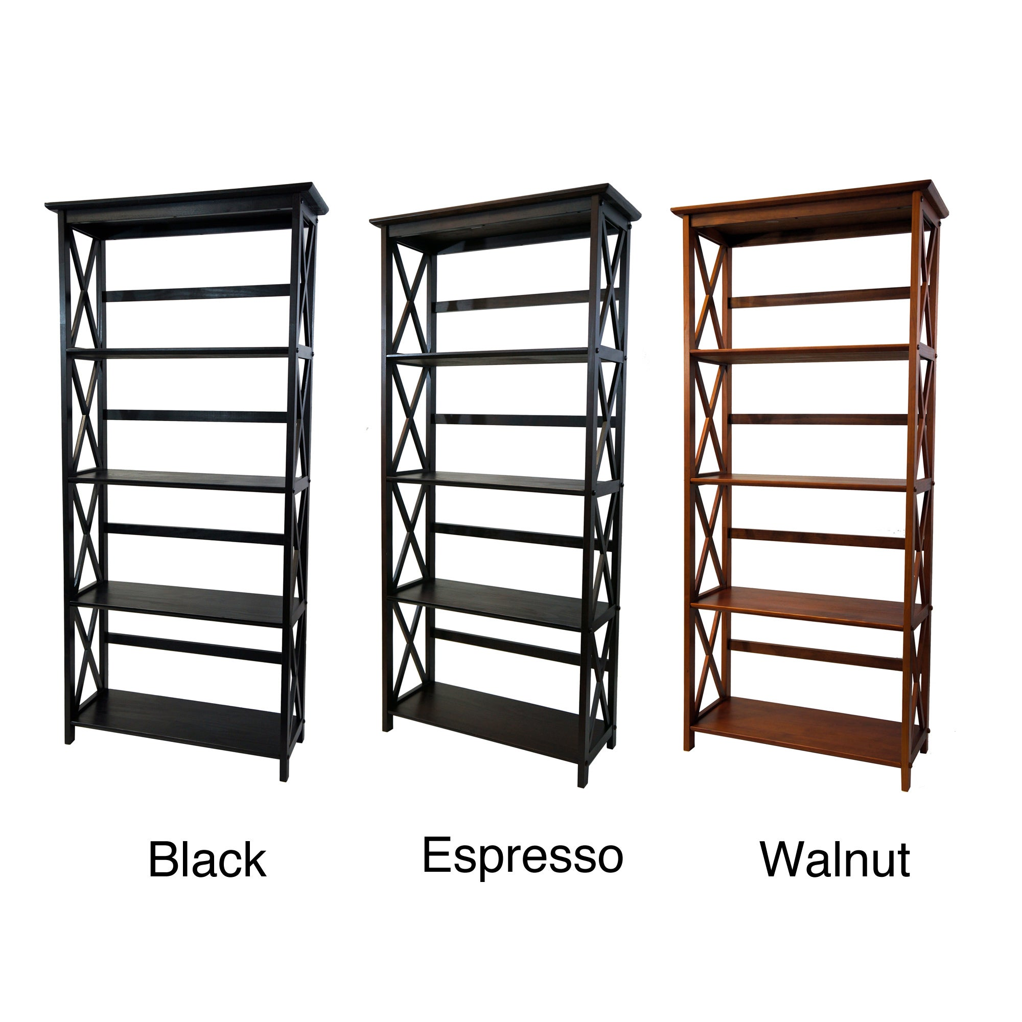 #995932 Montego 5 Tier Bookcase Overstock Shopping Great Deals On Media  with 2000x2000 px of Highly Rated Overstock Com Bookcases 20002000 picture/photo @ avoidforclosure.info