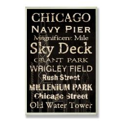 Chicago Plaque Rect