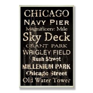 Chicago Plaque Rect