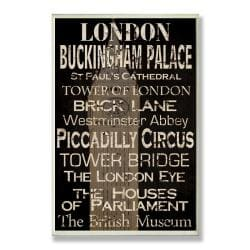 London Plaque Rect