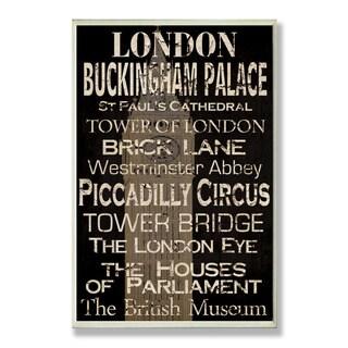 London Plaque Rect
