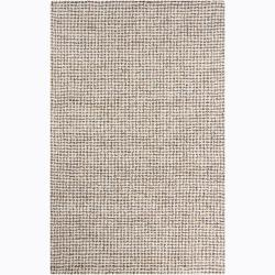 Hand-tufted Mandara Ivory Wool Rug (8' x 10')