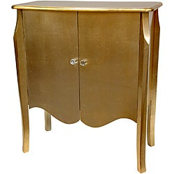Gold Leaf Two Door Cabinet (China)