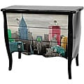 Colorful NYC Three-Drawer Cabinet (China)