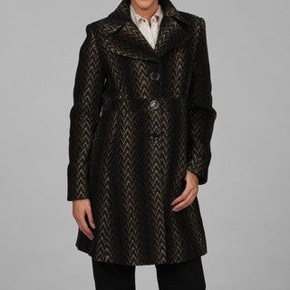 Via Spiga Women's Tweed Coat