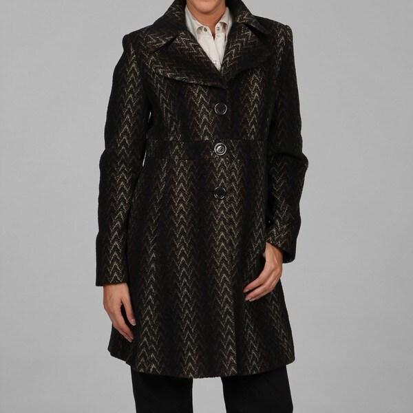 Via Spiga Women's Tweed Coat